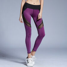 Women Lesiure Sexy Yoga Trousers Fitness Activewear Athletic Leggings Ladies