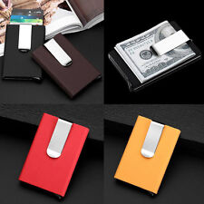 Unisex Aluminum Slim ID Credit Card Protector Holder Purse Wallet Money Clip
