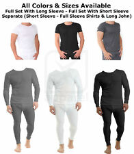 FUL set MEN THERMAL Ski UNDERWEAR T-shirt LONG SLEEVE SHORT Sleeve LONG JOHN Lot