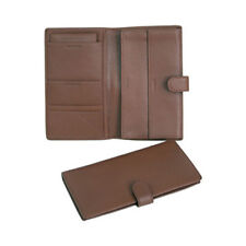 Royce Leather Unisex  Deluxe Passport and Travel Case 215-5