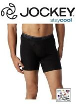 JOCKEY BIG MEN'S 2PK. MIDWAY BRIEF 100% COTTON ,STAY COOL ,Y- FRONT FLY