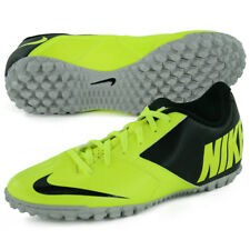 New Mens Nike Bomba II TF Turf Soccer Shoes sz 11.5 Black Volt 580444-700