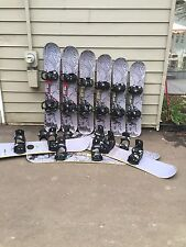 Atomic AiA Woodcore Snowboard w/ 5th Element Adult Bindings