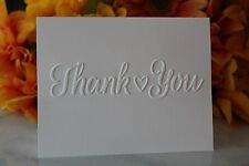Thank You Note Cards - Wedding, Baby Shower, Graduation -Set of 10, 20, 50 & 100