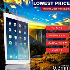 Tempered Glass Screen Protector Film for Apple iPad 2 3 4 5 Air Mini Pro