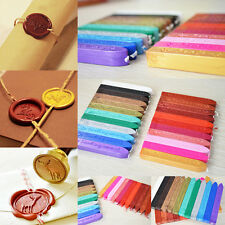 5PC Colours Seal Wick Candle Stamp Candle Wax Envelope Gift Sealing Stick Signet