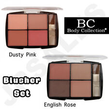 Body Collection 4pc Blusher Set With Applicator