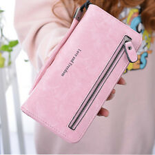Fashion Women Leather Clutch Long Wallet Handbag Lady Card Holder Case Purse