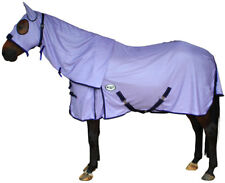 CARIBU ENDURO FLY AIR MESH Attached Hood Horse Rug, Cool Strong 410gsm. PURPLE