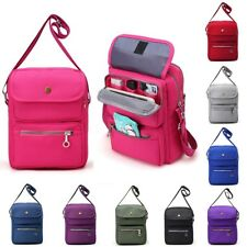 Fashion Women Nylon Travel Crossbody Shoulder Bag Travel Passport Purse Tote