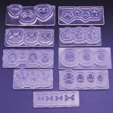BL_ 3D Silicone Mold Mould for Nail Art DIY Tips Decoration Accessories Eager