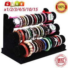 LOT 3 Tier Jewelry Bracelet Watch Bangle Display Holder Stand Showcase Rack EKJ