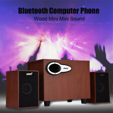 Mini Wooden Wireless Bluetooth Speaker Portable subwoofer for IPhone Android HL