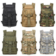 Outdoor Oxford Fabric Military Tactical Bag Hike Traveling Camping Backpack 40L