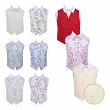 Boys Scroll Waistcoat - Sorted for Dinner, Wedding, Events (Ages 3 - 14) DQT