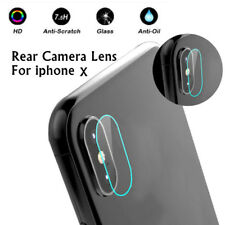 For iphone X Rear Camera Lens 7.5H Tempered Glass Protector Guard Film Cover Lot