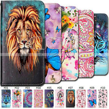 Card Protective PU Leather TPU Cover Skin Wallet Flip Back Case For Apple iPhone