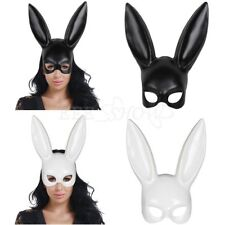 Bunny Rabbit Ears Fancy Dress Costume Women Masquerade Halloween Face Eye Mask