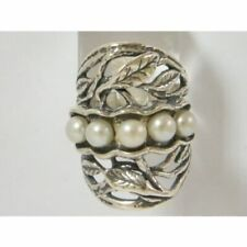 New SHABLOOL Ring Handmade Jewelry 925 Sterling Silver Freshwater Pearl