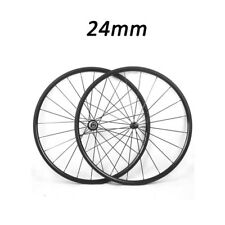 Top Quality 24mm Depth Clincher Road Bike Touring Straight Pull Carbon Wheels