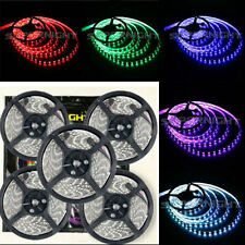 SUPERNIGHT® RGB 5M 5050 SMD 300 LEDs Flexible Strip Lights Lamp IP65 Waterprof
