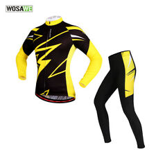 Outdoor Sports Jersey Long Sleeved Pants Suit Cycling Bike Bicycle Set Men Women