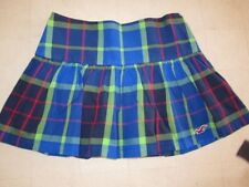 Hollister by Abercrombie Womens Plaid Imperial Beach Skirt Multicolor-NWT $39.50