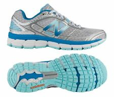 New Balance 860 V5 Women's Athletic Shoes, Silver/Blue, W860SB5
