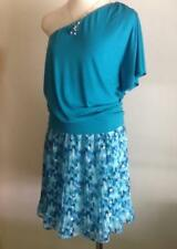 NWT WHITE HOUSE BLACK MARKET Pleated Watercolor Skirt  Sz:S