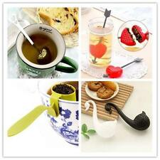 Quality Loose Tea Leaf Strainer Herbal Spice Silicone Filter Diffuser Nice 9T