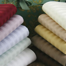 DUVET COVER SET STRIPED ALL COLORS & SIZES 1000 THREAD COUNT 100 EGYPTIAN COTTON