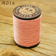 Professional pure Linen waxed Thread 0.55mm 150M hand sewing leather craft work