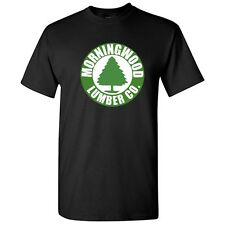 Morningwood Lumber Sarcastic Cool Graphic Humor Men's Funny Novelty T Shirt