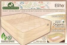 Elite™ Natural Latex & Coil Mattress / 100% American Wool /  Organic Cotton!