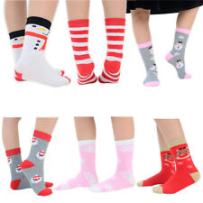 18 Pairs of Kids Christmas Ankle Socks For Girls & Boys With Colourful Designs