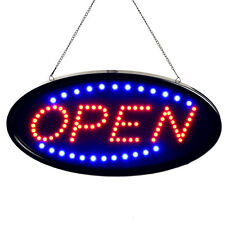 "19x10"" Bright LED Neon Light Animated Motion OPEN Business Sign Led Sign Board"