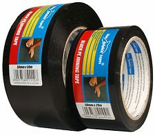 Tape Plastic 50mm Black gloss Adhesive tape waterproof strong Glue