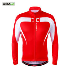 Thermal Fleece Cycling Jersey Warm Bicycle Clothing Windproof Coat Mountain Bike