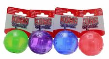 KONG SQUEEZZ SQUEAKY DOG PUPPY TENNIS BALL FETCH TOY - LARGE