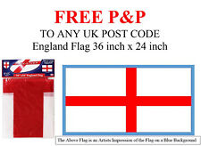 ENGLAND FLAG England Football Supporters World Cup Size 36 inch x 24 inch NEW