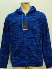 NWT$75 Nike Mens Therma-Fit Stay Warm Knock Out Camo Training Zip up Jacket Blue