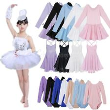 Girl Kid Gymnastics Ballet Dance  Dress Tutu Training Leotard Dance wear Costume