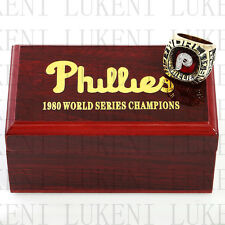 Year 1980 PHILADELPHIA PHILLIES World Series Championship Solid Ring 10-13Size