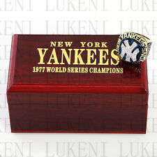 Year 1977 NEW YORK YANKEES World Series Championship Solid Ring 10-13Size