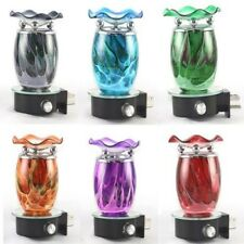 Tie Dye Plug In Diffuser Tart Oil Warmer Wall Outlet Night Light Assorted Colors