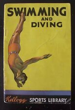 1934 Swimming and Diving Booklet - Kellogg Sports Library - Advertisement Ad