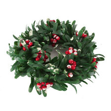 Christmas Wreath Decorations Baubles Holly Berry Festive Decor Xmas