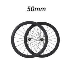 50mm Depth Clincher Road Bike Bicycle Touring Novatec A271/F372 Carbon Wheelset