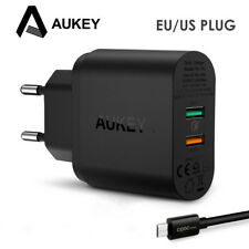 AUKEY Quick Charge 3.0 USB Phone Charger Fast Wall Charger for Samsung iPhone