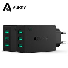 AUKEY 3-Port Wall Charger Portable Phone Charger Universal Travel USB Charger